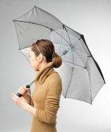 晴雨兼用・長傘晴雨兼用涼風扇風機付きUVカット99%手開き傘