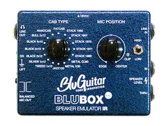Speaker simulator /DI box BluGuitar BluBOX [!]