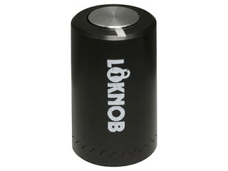 锁头·把手Loknob Loknob Small Inch Black/Silver!