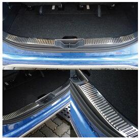 シエンタ 170系 内装パーツ 170 sienta シエンタ170 シエンタ170系 インテリアパネル パネル アクセサリー トヨタ リアバンパー メッキ パーツ メッキパーツ スカッフプレート インナー ラゲッジ ステップガード 1P ステンレス リア テール 内装