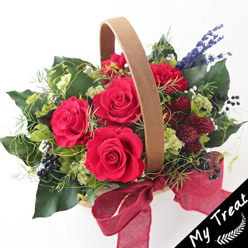 クララ 母の日 ギフトプリザーブドフラワー/プリザードフラワー/ブリザードフラワ−光触媒加工プレゼント 花ギフト お祝い 結婚祝 新築祝 お誕生日