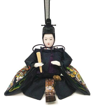 雛人形ひな人形漆調ケース飾りスワロフスキーコンパクト親王ケース飾り2017