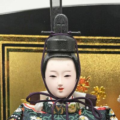 雛人形ひな人形平飾り雛親王飾り名前旗付【2018年度新作】