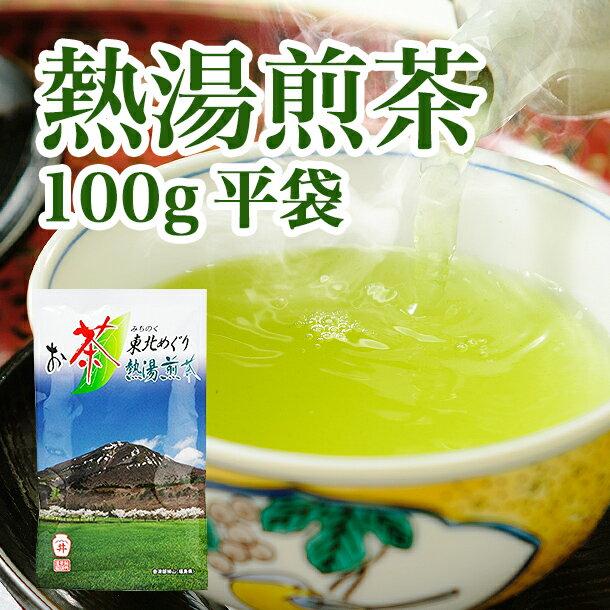 【送料・税込ワンコイン500円セール】熱湯煎茶 100g平袋(0316) お茶のふじい・藤井茶舗
