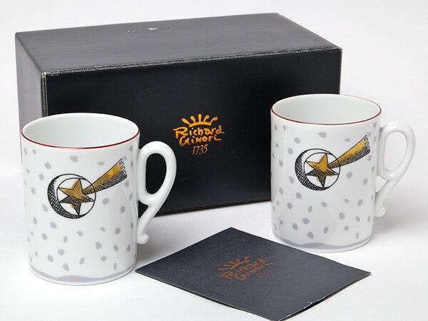 【送料無料】リチャードジノリ メルロウ 流れ星 ペアマグカップお茶のふじい・藤井茶舗