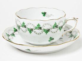 ヘレンド/HEREND ティーカップ&ソーサー(パセリグリーン) herend-02お茶のふじい・藤井茶舗