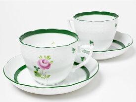 ヘレンド/HEREND ティーカップ&ソーサー(ウィーンの薔薇)ペアセット herend-05お茶のふじい・藤井茶舗