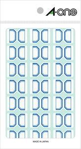 エーワン セルフインデックス 小 青 15シート×21面 (315片) 04008 印刷紙 印刷用紙 松本洋紙店 敬老の日