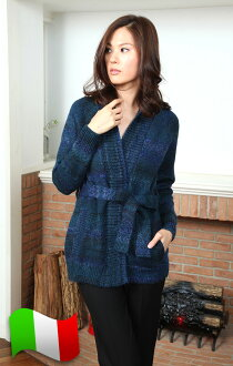The holidays, planned! Parche waist belted knit coat ALEGRA5