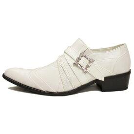 Vintage/とんがり靴・ポインテッドトゥー・ドレスシューズ・ホストシューズ・結婚式シューズ・イタリアンシューズ・カッコイイシューズ・白い靴