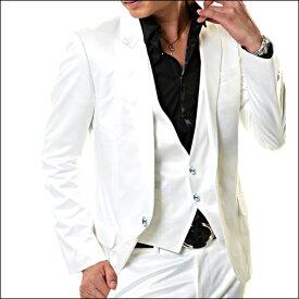 結婚式スーツ メンズ,NewWhite Prince 3p Suit,スワロフスキーVer,結婚式スーツ
