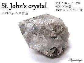 セントジョーンズ水晶 アメリカ・ニューヨーク州モンゴメリー郡セントジョーンズ・バレー産 天然石 パワーストーン 鉱物 レア水晶