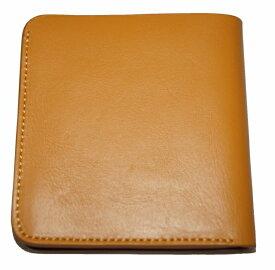 コムサイズム COMME CA ISM 財布 2つ折り y 本革 レザー メンズ 黄色 イエロー 牛革 ウォレット