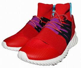 【中古】アディダス adidas スニーカー チュブラー TUBULAR DOOM ADVENTURE オリジナルス 赤 シューズ レッド 靴 ミッドカット