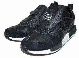 【中古】アディダス adidas オリジナルス マイクロペーサー 黒 EE3625 スニーカー MICROPACER XR1 シューズ ブラック 靴 originals トレフィル