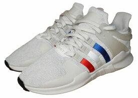 【中古】アディダス adidas スニーカー EQT SUPPORT ADV CQ3003 トリコロール ランニング オリジナルス シューズ 靴 メンズ 白 ホワイト ブルー 青 赤 レッド 国内正規品 Originals