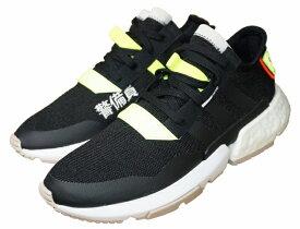 【中古】アディダス adidas スニーカー POD-S3.1 警備員 黒 オリジナルス BD7693 メンズ adidas Originals シューズ 靴 ブラック 国内正規品