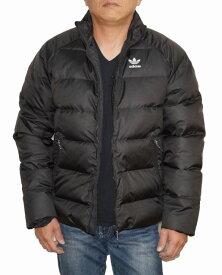 【中古】アディダス adidas オリジナルス ダウンジャケット 黒 ED5837 メンズ トレフィル Originals ブラック 冬物 防寒 防風 耐寒 保温