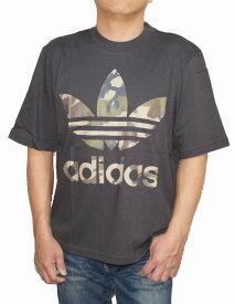 【中古】アディダス adidas オリジナルス 半袖Tシャツ 迷彩 UTI DX4203 トレフィル メンズ 夏物 ユーティリティ ブラック 黒 オーバーサイズ