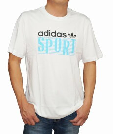 【中古】アディダス adidas オリジナルス 半袖Tシャツ 白 FM3350 メンズ 夏物 ホワイト Originals