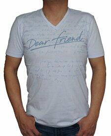 ニコル セレクション NICOLE selection 半袖 Tシャツ Vネック 水色 8266 メンズ 夏物 サックス ブルー 青