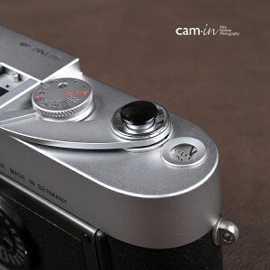 cam-in ソフトシャッターボタン | レリーズボタン オリジナル 凸面 - ライトブラック CAM9009