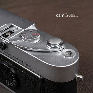 cam-in ソフトシャッターボタン | レリーズボタン オリジナル 凸面 - スチールグレー CAM9013