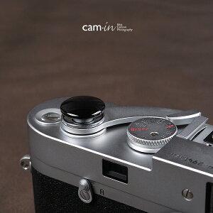 cam-in ソフトシャッターボタン | レリーズボタン ビッグ 凸面 - ライトブラック CAM9027