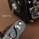 cam-in ソフトシャッターボタン | レリーズボタン MINI 凸面 - スチールグレー CAM9062