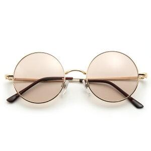 サングラス レディース おしゃれ UVカット 紫外線予防 ラウンド 丸めがね メンズ メタルフレーム 眼鏡 クリアレンズ ウイルス 飛沫 感染 予防 対策