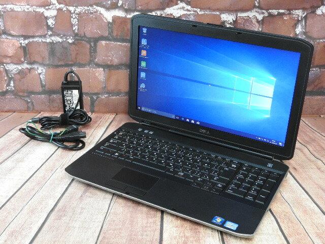 【中古】Aランク DELL Latitude E5530 i5 3340M搭載 15インチ Windows10【RCP】