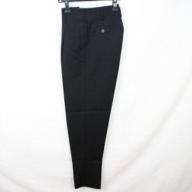AP701ランクA【新品】ワンタックスリム変形男子学生服変形ズボン学生ズボンW68 ワタリ31-裾17 黒