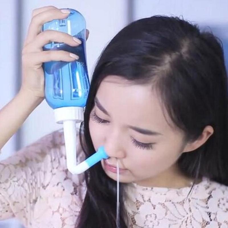 ヨガ ネティポット 鼻洗浄専用ボトル