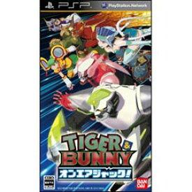【+5月7日発送★新品】PSPソフト TIGER & BUNNY オンエアジャック!
