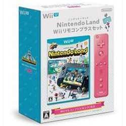 【数量限定特価★+1月24日発送★新品】WiiUソフト Nintendo Land Wiiリモコンプラスセット (ピンク)