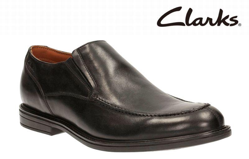 【607E】【Clarks】【送料無料】【牛革】アッパー全て牛革☆ べックフィールドオーバー スリッポンビジネスシューズ紳士靴