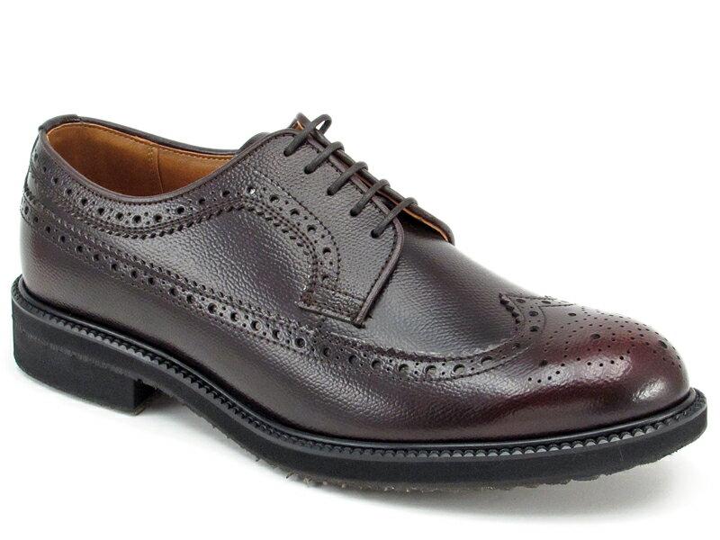【KB60ACJ】【KENFORD】【送料無料】【雪道対応ソール】【日本製】アッパー全て本革☆ケンフォード 3E 幅広 ウイングチップビジネスシューズ紳士靴