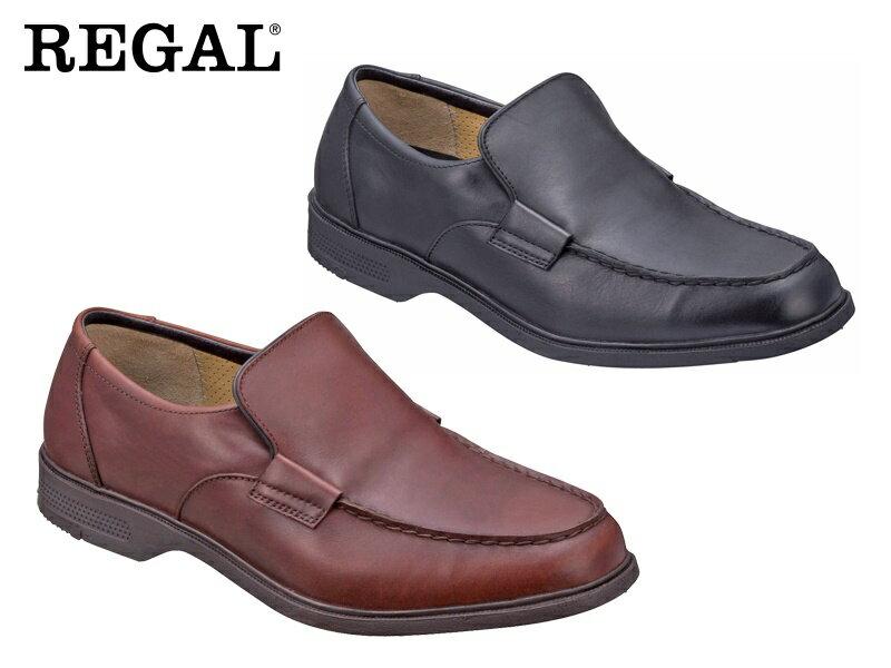 【267WBD】【Regal Walker】【送料無料】【日本製】【幅広】アッパー全て牛革☆ スリッポン 3Eビジネスシューズ紳士靴