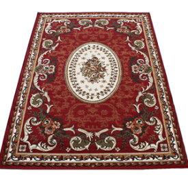 激安 じゅうたん カーペット マット ラグマット ラグカーペット 春夏秋冬 オールシーズン 安い ベルギー製 輸入ラグ 輸入カーペット レッド 約160×230cm シラーズ1123 (Y) 絨毯 ジュータン 赤 あす楽対応 red roze rug carpet mat made in belgium 引っ越し 新生活