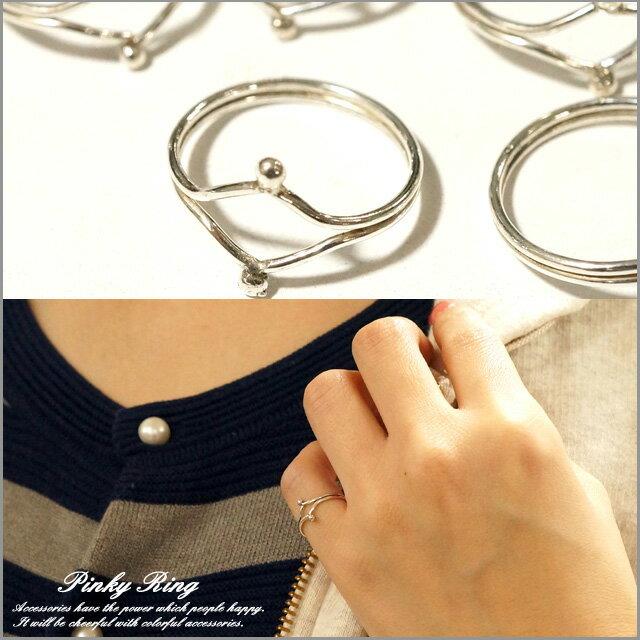 ピンキーリング シルバーリング シルバー925 メンズ レディース 指輪 シャカ玉 丸玉 ひし形デザインのピンキーリング シルバー925 silver925 シルバーアクセサリー 指輪