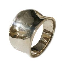 ピンキーリング シルバーリング メンズ レディース 指輪 シンプル 逆甲丸 シルバー925 silver925 シルバーアクセサリー