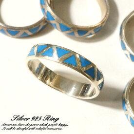 シルバー925 メンズ レディース 指輪 三角 幾何学デザインリング silver925 シルバーアクセサリー
