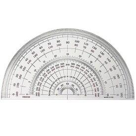 半円分度器 S-25 直径25cm デザイン文具 事務用品 製図