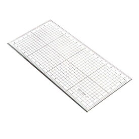 コンサイス 20×10cm角定規:ステンエッジスケール20R(広幅・側面ステンレス加工)物差し 製図 文房具 デザイン文具 事務用品 【10P20Nov15】