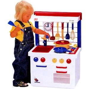 【箱付】ボーネルンド BorneLund ままごと大好き キッチンセンター 【正規販売店 送料無料 おもちゃ ごっこ遊び 誕生日 ギフト 贈り物 プレゼント】【10P03Dec16】 P10【10P】