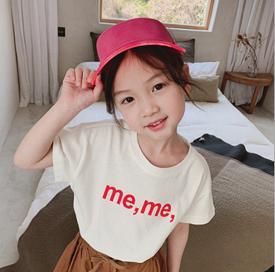 (予約販売)韓国子供服 Tシャツ 子ども ナチュラル 可愛い おしゃれ 子ども服 韓国