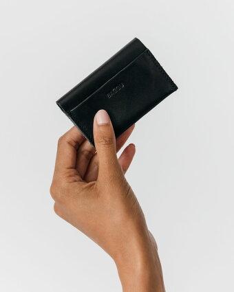 カードケースBAGGULEATHERCARDHOLDER2017年春夏モデルバグゥ本革レザーカードホルダーブラック