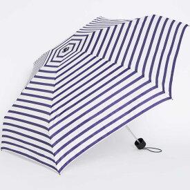 折りたたみ傘 BAGGU UMBRELLA レディース かさ 軽量コンパクト! おしゃれ! バグゥ 折傘 女性用 ホワイトネイビー