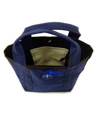 トートバッグ+RING撥水トートバッグXSサイズ小さめおしゃれプラスリングレディーストートSr.148ネイビー
