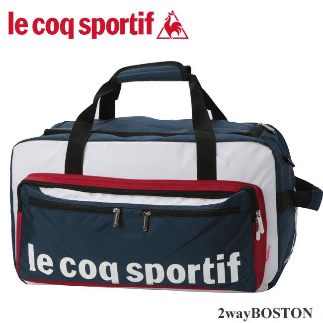 【4/29日までポイント10倍】 ルコック スポルティフ バッグ ショルダーになる便利な大き目ボストン♪
